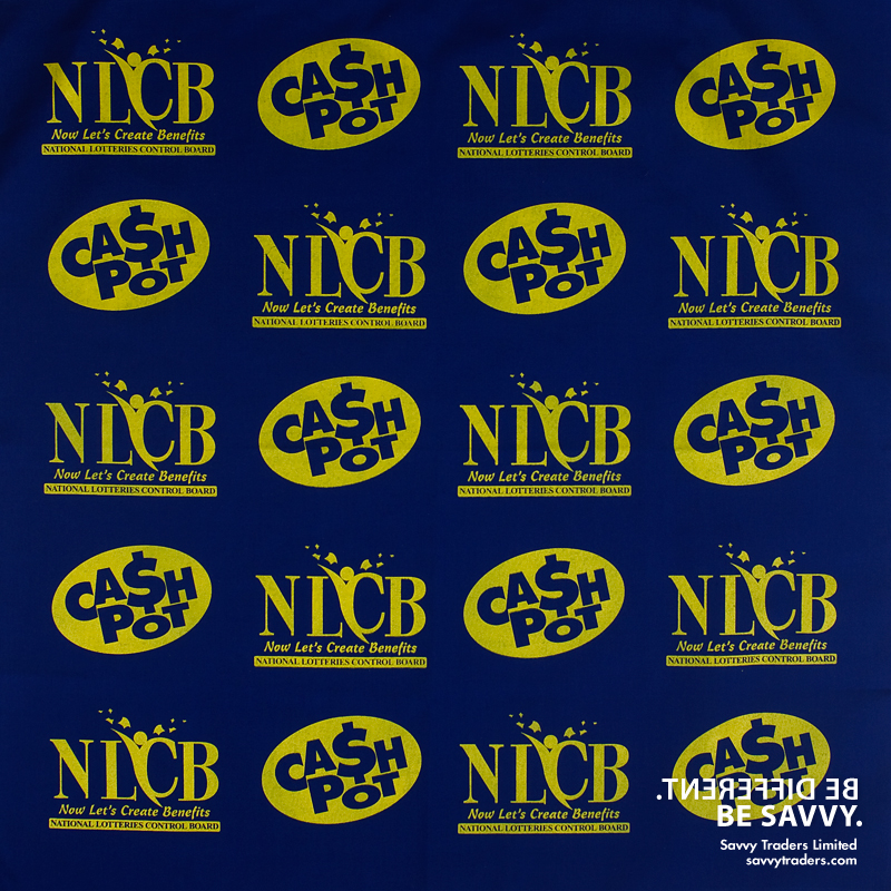 """22"""" square single colour or full colour printed bandanas ideal for branding and during Carnival or election campaigns"""
