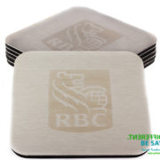 Promotional printed coasters ideal for corporate branding and commemorative gifts