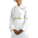 Brandable uniform for chefs and food service professionals