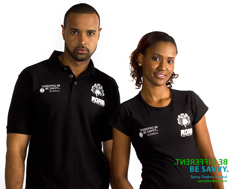 Printed polo shirts and fitted shirts for casual corporate and promotional events
