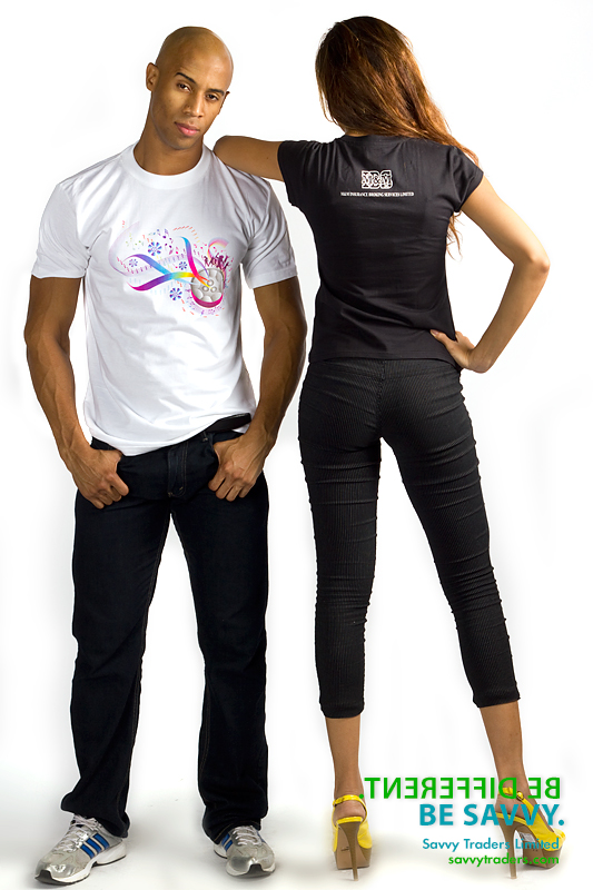 Printed t-shirts and tops for men and women ideal for Carnival, corporate branding and promotional events