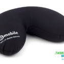 Printable neck pillow for corporate branding and gifts