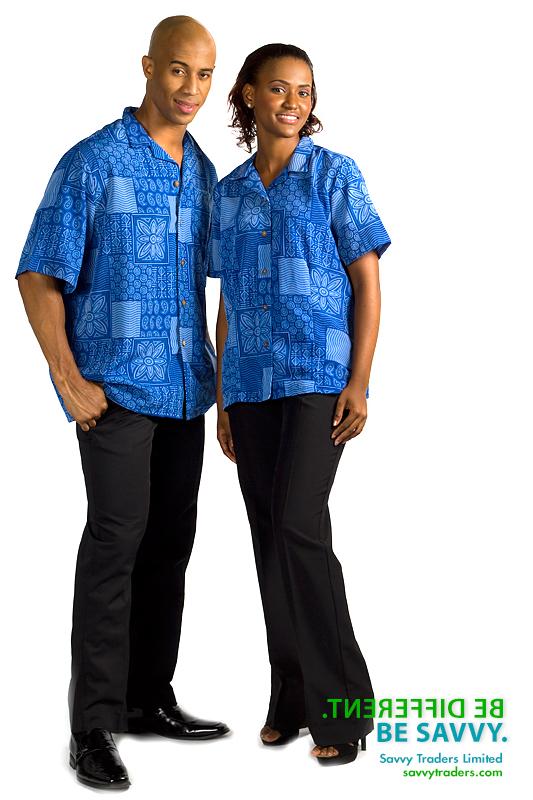Brandable unisex resort wear for hospitality industry