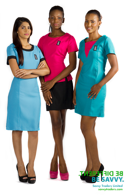 Custom made garments for LIME corporate uniforms