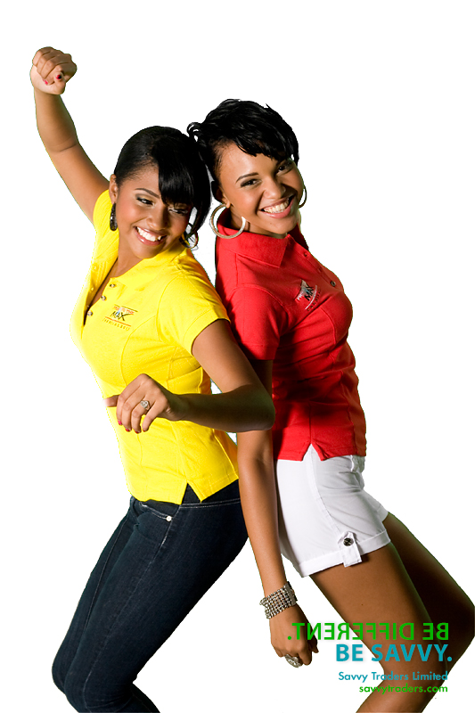 Women's polo with embroidered logos ideal for promotional events and casual corporate wear