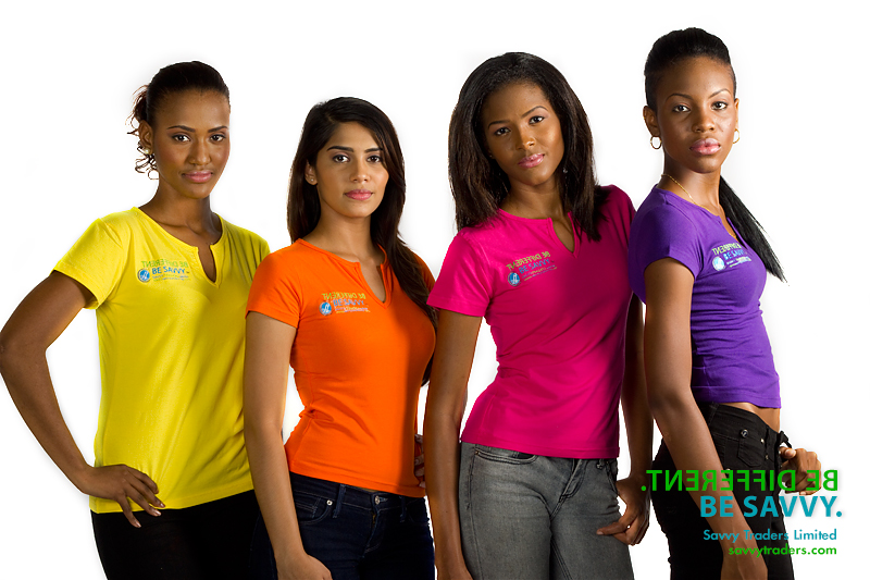 Embroidered women's tops suitable for casual corporate or promotional events