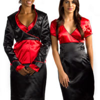 Hospitality industry dresses suitable for casino uniforms