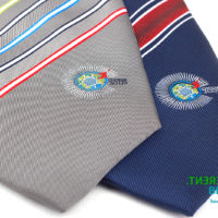 Embroidered commemorative necktie for CHOGM 2009 hosted in Trinidad