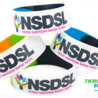 Printed wristbands suitable for promotional giveaways and brand awareness